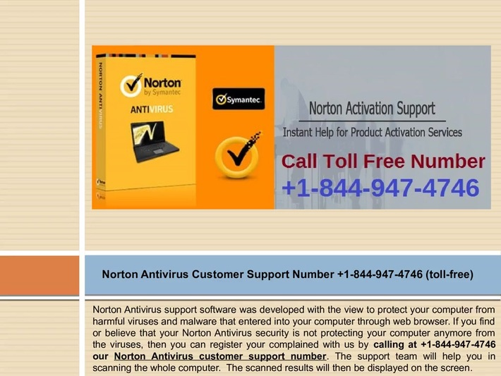 Contact us now +1-844-947-4746 Norton Support Number to resolve Norton Activation issue