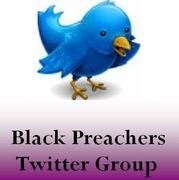 Black Preacher's Twitter Group