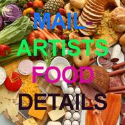 Mail-Artists Food Details