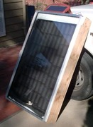DIY Solar Hot Air