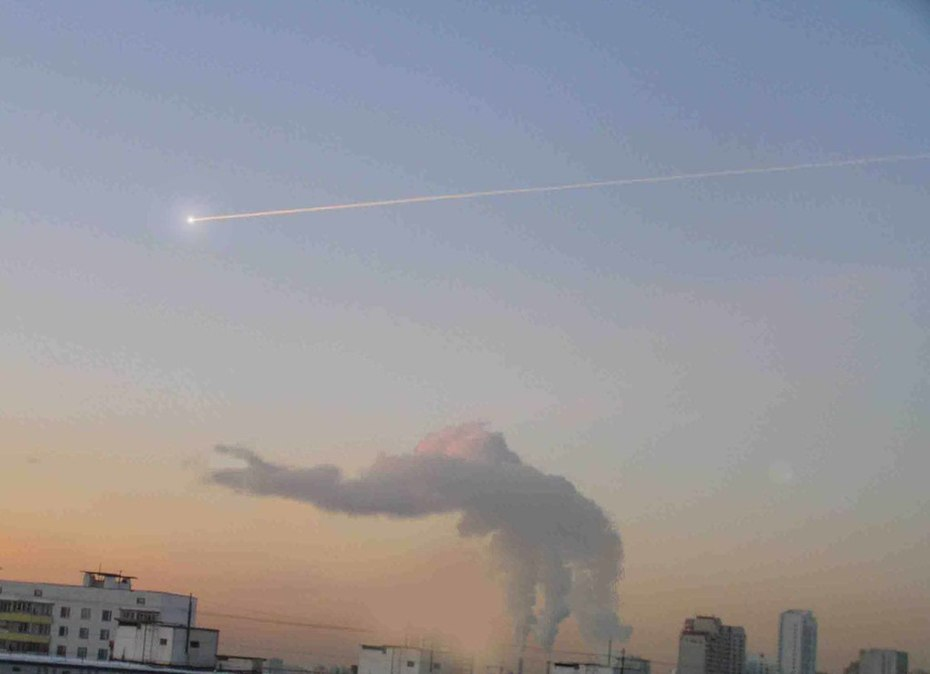 динозавр и комета