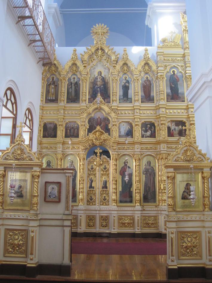 Храм Ильи Пророка (правый иконостас)