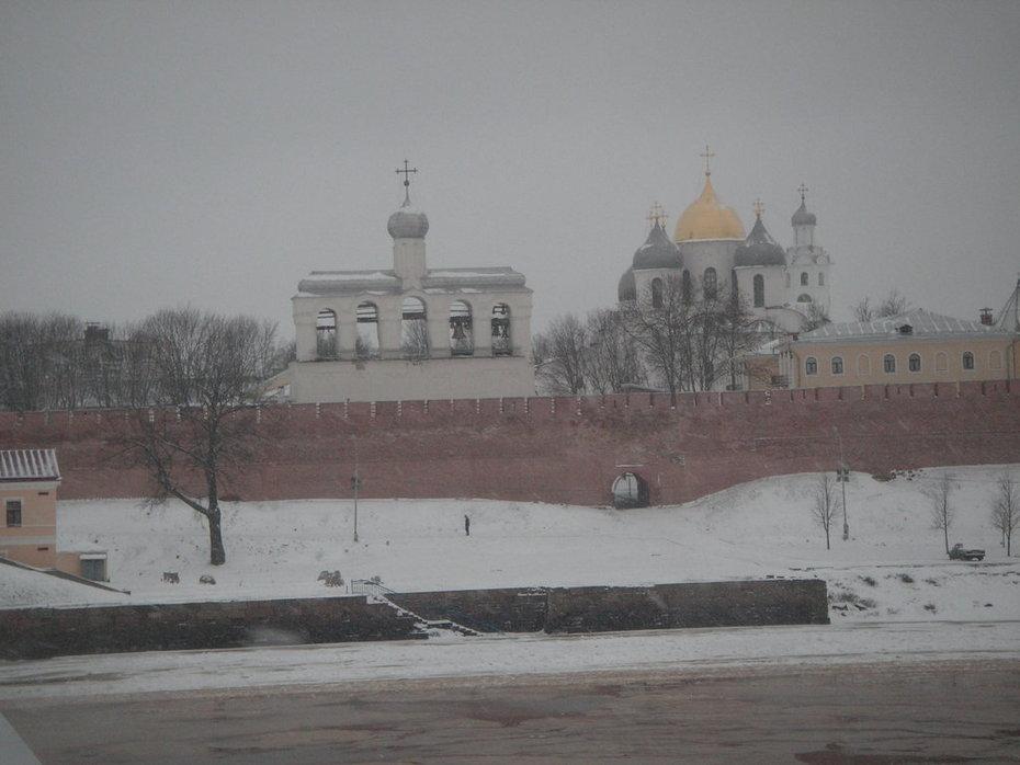Новгородский кремль-3