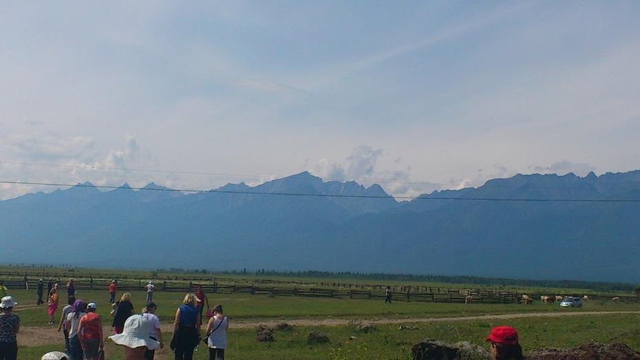 Тункинская долина, после работы на жерле вулкана