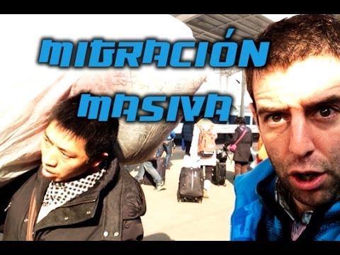 Año Nuevo Chino: migración masiva. Living in Pekin by Roger Vicente