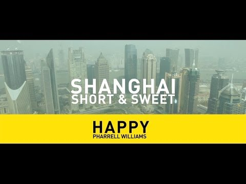 Happy Shanghai - Pharrell Williams - Happy - INTERNATIONAL (We are from SHANGHAI, China) #TRIOO