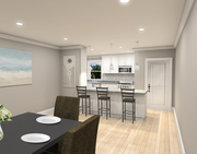 Simple Dining Kitchen