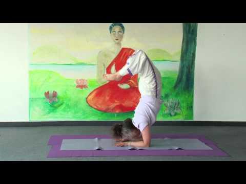 Yoga Scorpion With Twameva Chanting Narayani