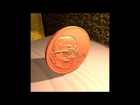Spinning 2 Cent Coin