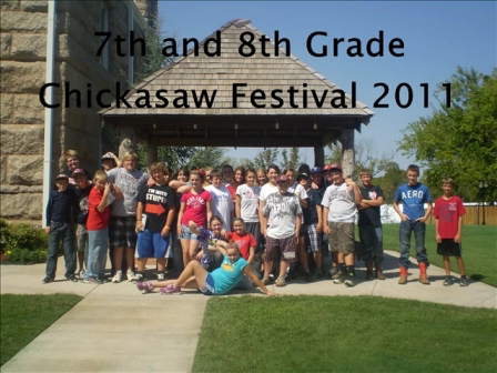chickasaw festival project