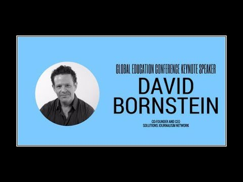 David Bornstein - 2017 Global Education Conference Keynote