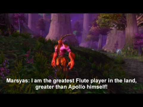 Latin Marsyas Project: World of Warcraft Machinima