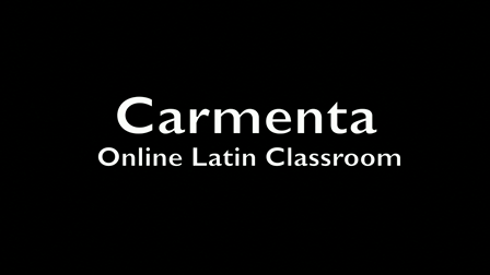 Demonstration of Online Latin Classroom--Carmenta Online Latin Classroom
