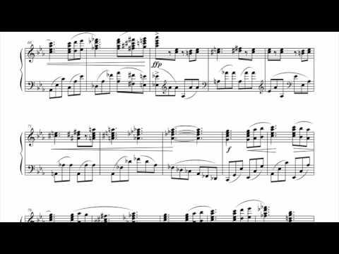 Piano Sonata No.1 3rd & 4th Movements - Seongjean Moon(2004) (2/2)