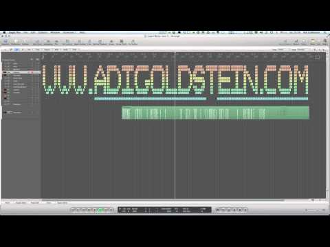 My Logo Made From Musical Regions (Logic Pro)
