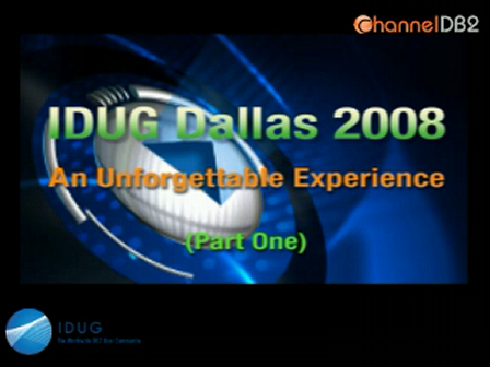 IDUG Dallas 2008 - Part One