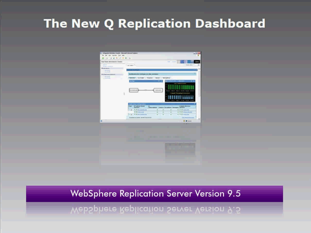 The 9.5 Replication Dashboard
