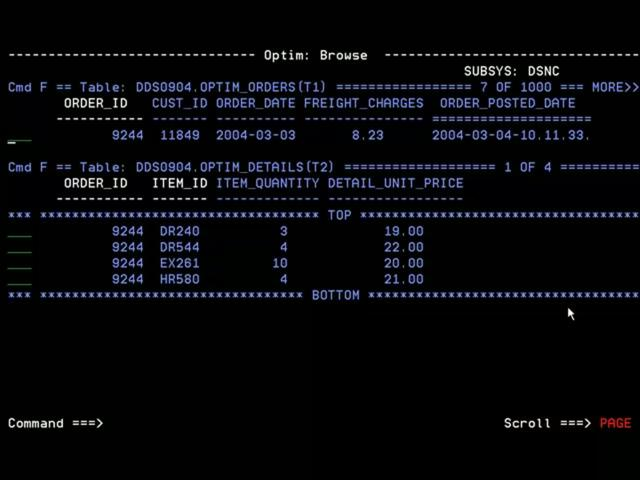 Archiving DB2 data with IBM Optim on z/OS
