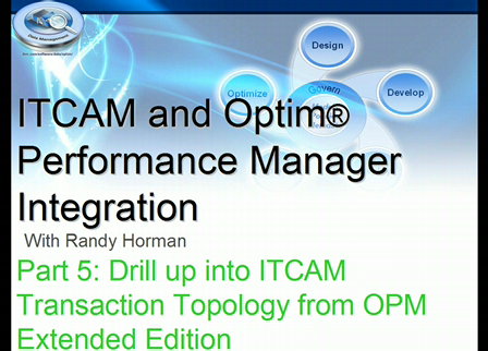 OPM-ITCAM Integration Overview-Part 5