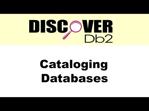 (Ep. 02) - Catalog a Node/Database