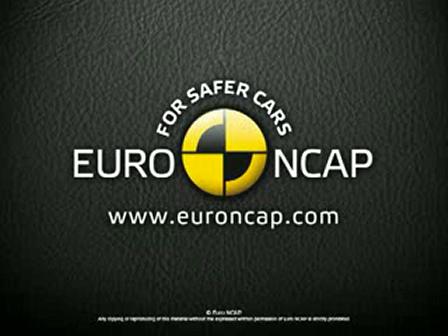 Euro NCAP  Volvo xc60  2008  Crash test