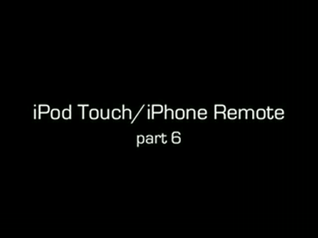 Part 6 of the iPod Remote tutorial