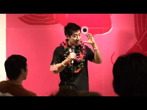Austen Ito, Geeks vs Nerds at Ignite Honolulu #1