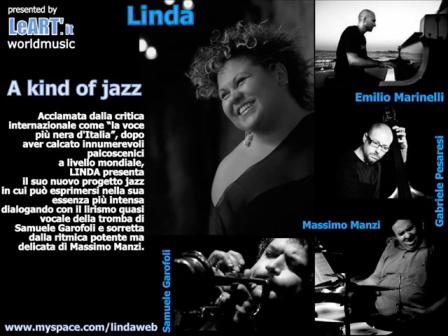 Linda Valori sings the jazz - November girl