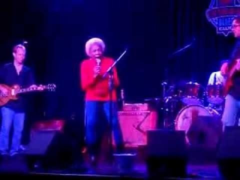 Betty Douglas performing at BB Kings
