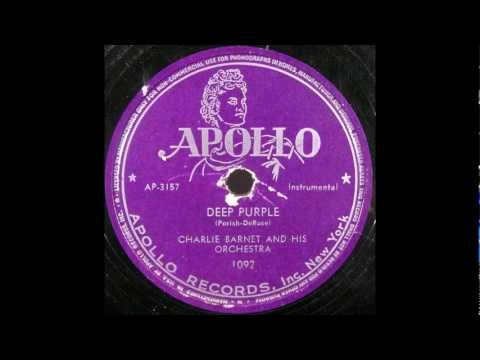"CLARK TERRY   ""Deep Purple""   Charlie Barnet Orchestra   1947"