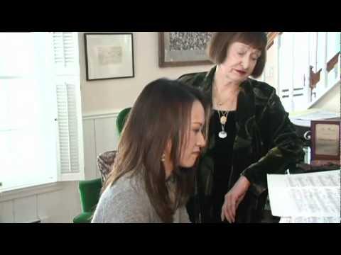 Yoko Miwa with Sheila Jordan
