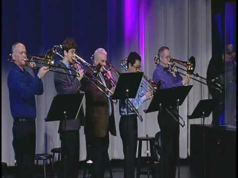 McLean Bible Church Trombone Choir with Pittsburgher Ken McNair on drums