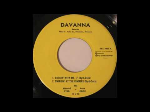 """The Wendell Byrd-Dave Cook Duo """"Cookin' With Mr. J"""""""