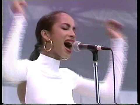 """Sade at Live Aid 1985 """"Is it a Crime"""""""