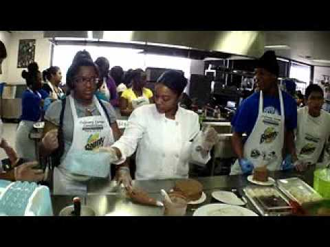 Big Thought and Real Men Cook Townview Culinary Camp