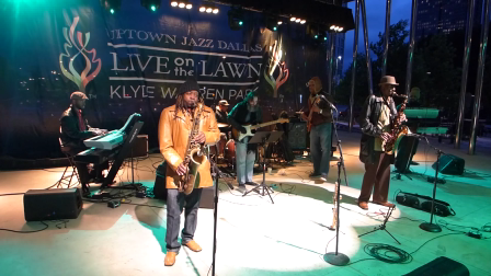 Quick Shot-Tease: Uptown Jazz Dallas Live on the Lawn | Klyde Warren Park