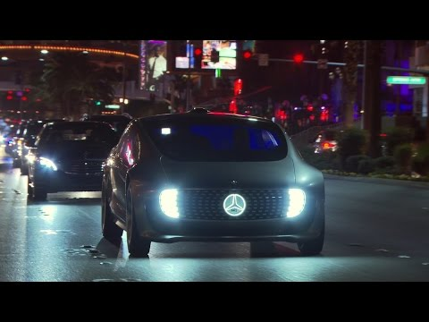 Founder's Court | Luxe:  Mercedes-Benz TV: With the F 015 Luxury in Motion on the Las Vegas Strip.
