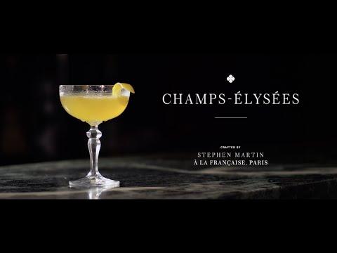 Taste Texas | Connoisseur:  Camus Cocktails : The Champs-Élysées
