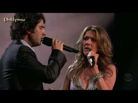 BUZZEZEVIDEO Celine Dion And Josh Groban FANS The Prayer