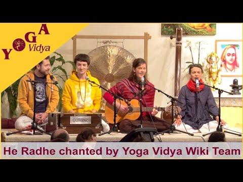 He Radhe chanted by the Yoga Vidya Wiki Team