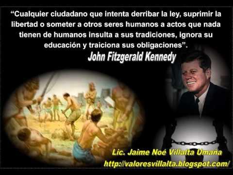 Reflexiones Illia, Kennedy, Lincoln, Churchill