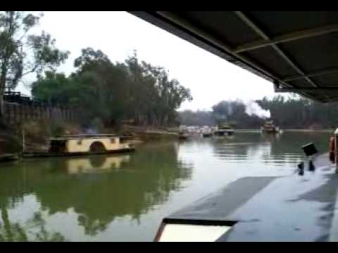 Paddle Steamers at Echuca, Victoria, Australia
