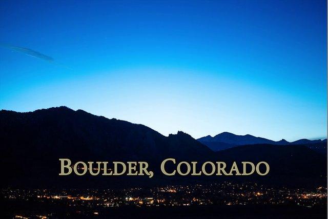 A Comet Comes to Boulder
