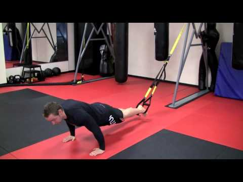 Advanced TRX ab exercise - Inverted V up HD