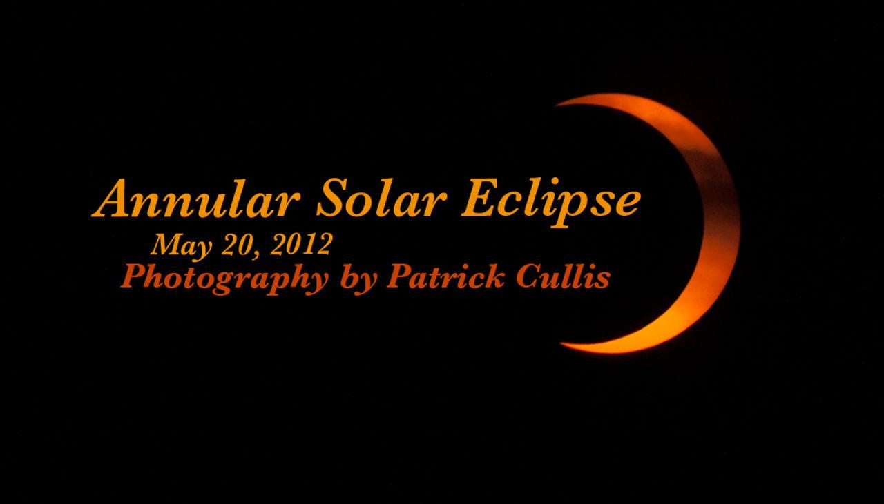 Annular Solar Eclipse (30sec) - May 20, 2012