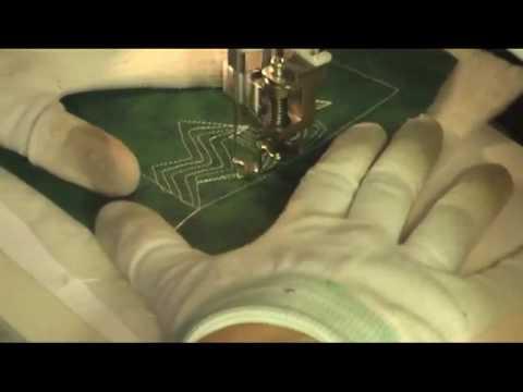 Free Motion Quilting Video: Lightning Bolt