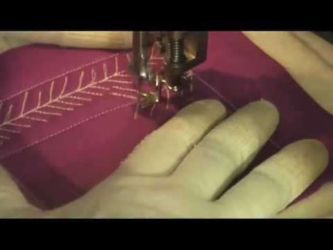 Free Motion Quilting: Pine Needles