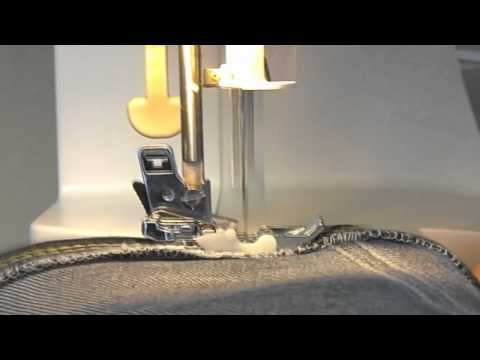Toyota Super Jeans 15W Sewing Machine Demo