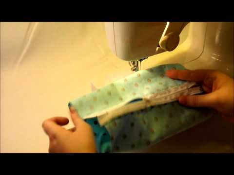 How To Make A Zipper Cosmetic Makeup Bag