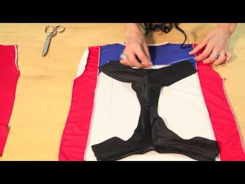How To Make a Bikini Out of a T-Shirt